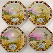 TE-OH Nippon China Bowls-Set of 4