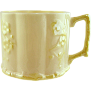 Irish Belleek Baby Cup, Yellow-6th Mark