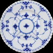 Royal Copenhagen Blue Fluted Full Lace Plate