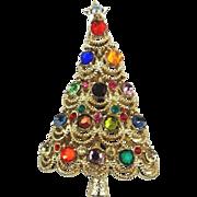 Christmas Tree Pin - Signed PAKULA