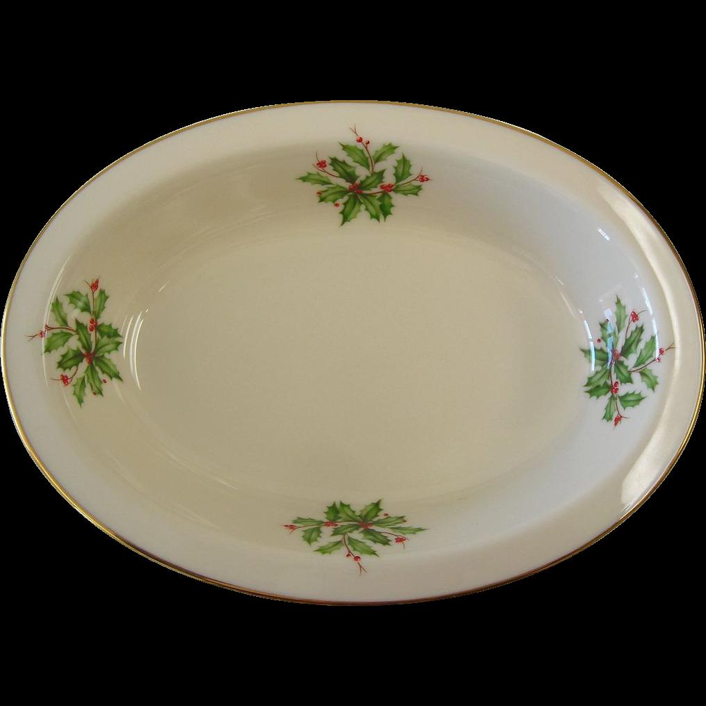 Lenox  - Holiday - Small Oval Dish