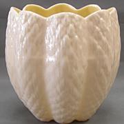 Irish Belleek - Tulip Shaped Vase-3rd Green Mark