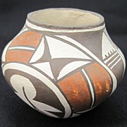 Acoma Pueblo Seed by Rose Chino Garcia