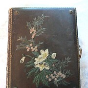 Awesome Antique Leather Crafted Photograph Album