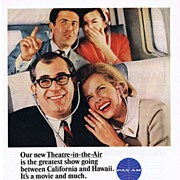 1965 Ad - PAN AM - 'Theatre-in-the-Air'