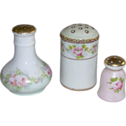 Trio of Salt Shakers