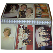 Postcard Album - Royal Wedding 1981