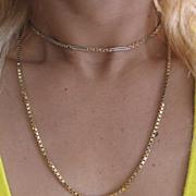 "18K Yellow Gold Chain.  Vintage ITALIAN Gold chain, 20"" long."