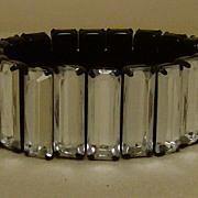 Lucite Prong Set Bracelet