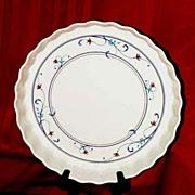 SALE Mikasa Vintage Quiche Dish...Annette Intaglio