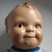 """Scootles 15""""  compo doll c1925"""
