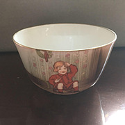 Royal Bayreuth Little Jack Horner Christmas nursery rhyme creamer child's  tea set