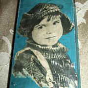 Vintage Jackie Coogan Metal Pencil Box