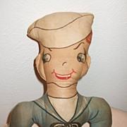 Cute Cloth Sailor Rag Doll