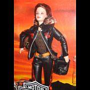 Harley Davidson Collectors Edition Barbie Doll
