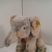 Steiff's Cosy Trampy Elephant With Two IDs
