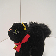 Steiff's Black Burri Tom Cat With All IDs and More
