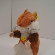 Steiff's Smallest Goldy Hamster With All IDs