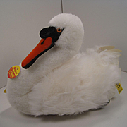 Steiff's Lovely Swan With All IDs