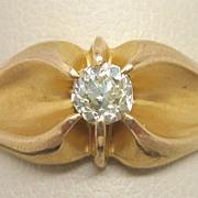 Victorian 14K Gold Diamond Ring 0.25 carat