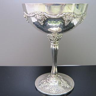 SALE Sterling Silver Wine Goblets
