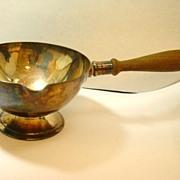 c. 1910 Apollo Studios Silver Serving Bowl with Handle