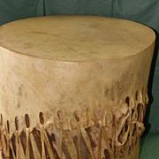 Antique Menominee Indian Tribal Drum