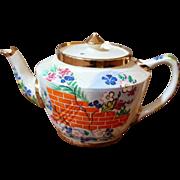 Vintage Hand Painted Tea Pot.