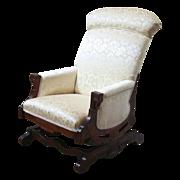 Antique Eastlake Rocking Chair, Platform Rocker.
