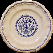 Antique Stoneware Plate.