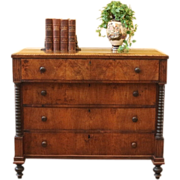 Antique Chest of Drawers, Georgian, American C.1790