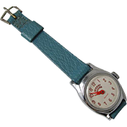 RUNNING Vintage Ingersoll U.S. Time Mickey Mouse character girls ladies childs womens wrist watch