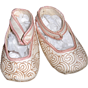 White and Pink Shoes for your Larger Dolly