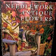 Needlework Antique Flowers - Elizabeth Bradley 1993