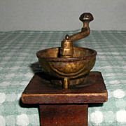 Miniature Cast Iron Coffee Grinder or Coffee Mill