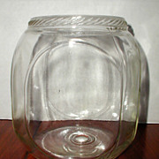 Glass Canister or Counter Jar