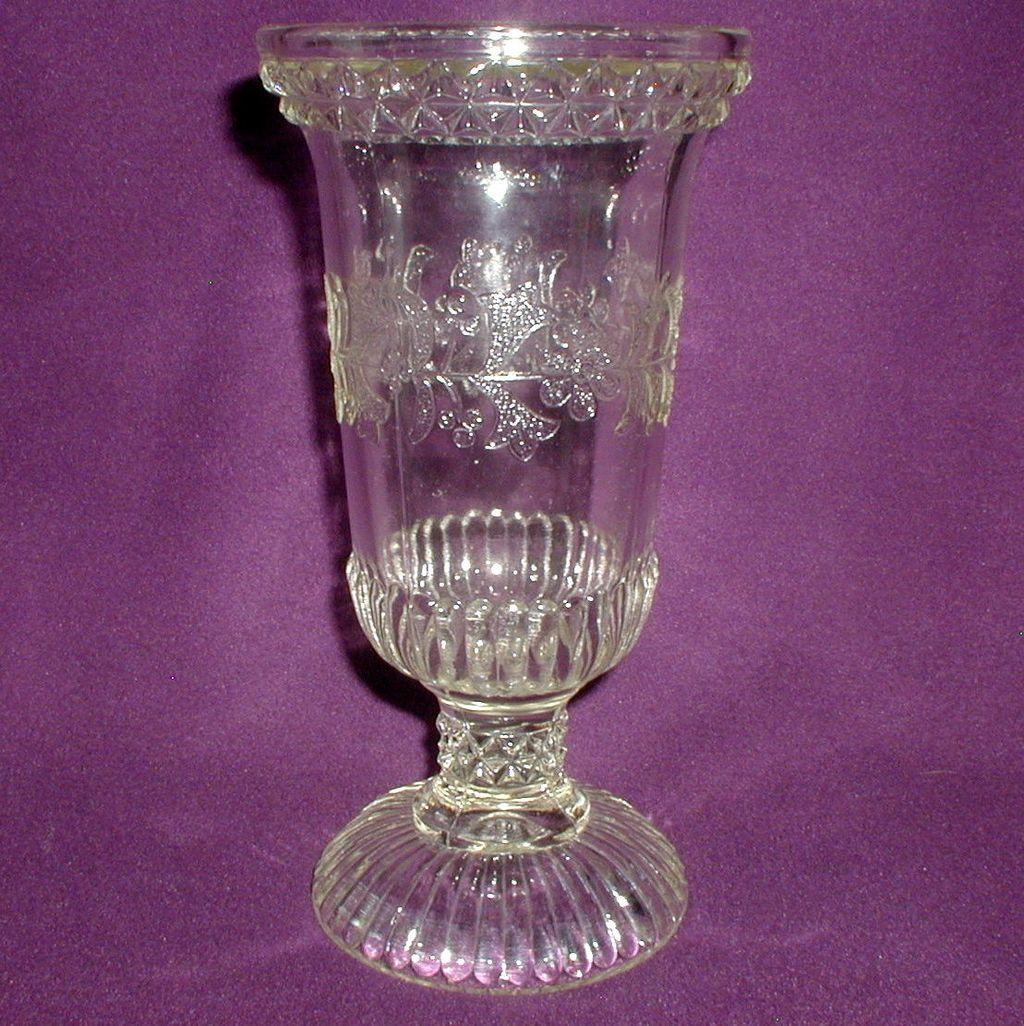 EAPG Adams Wildflower Celery Vase
