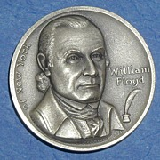 Declaration of Independence Medal - William Floyd of New York