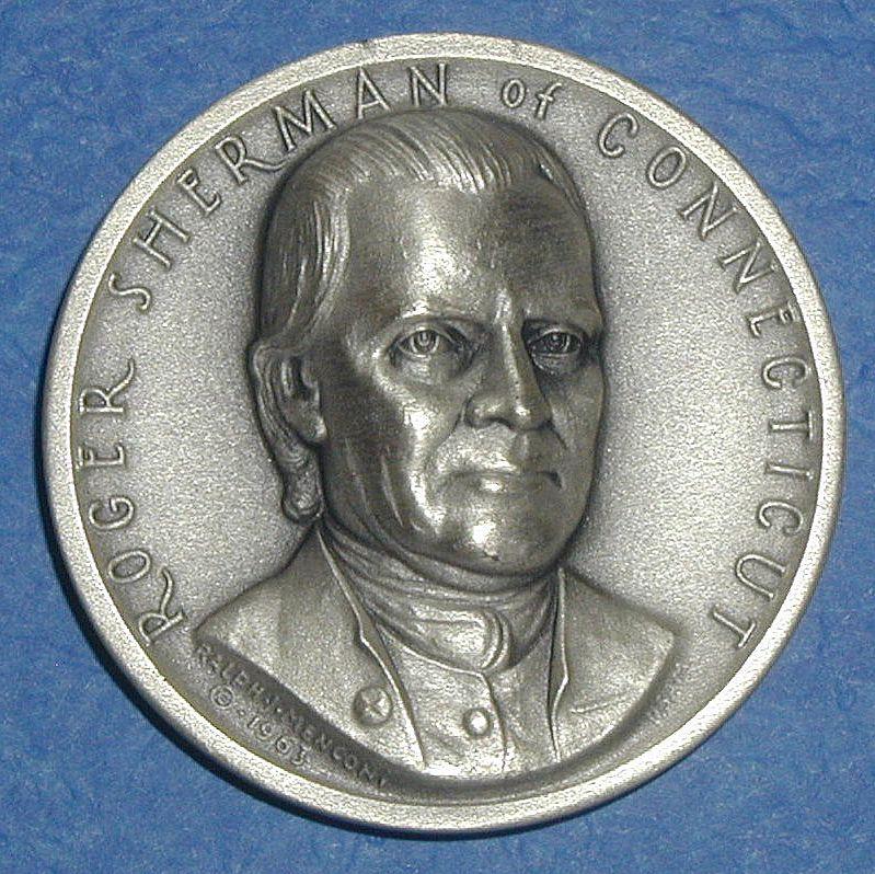 Declaration of Independence Medal - Roger Sherman of Connecticut