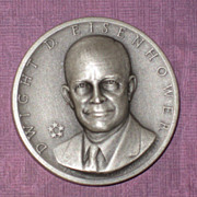 Silver Presidential Medal - Dwight D. Eisenhower