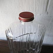 Refrigerator Jar with Lid