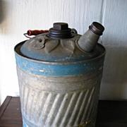 Decorative Tin Kerosene Can