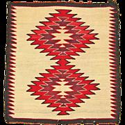 Red Mesa Navajo Weaving, Ca. 1940-50