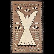 Navajo Weaving Peyote Bird / NRA Eagle, ca. 1930