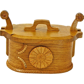 SALE Norwegian Style White Oak Tine Bentwood Box, Artisan Crafted at Sweetpea Cottage