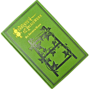 """Antique Book, """"Sorrento and Inlaid Work"""", by Arthur Hope, Chicago, 1876"""
