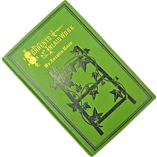 "Antique Book, ""Sorrento and Inlaid Work"", by Arthur Hope, Chicago, 1876"