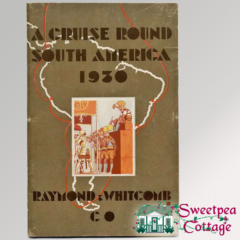 1930 Cruise Round South America Booklet