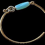 Peruvian Opal Layering Bracelet Bronze bangle bracelet Camp Sundance Gem Bliss