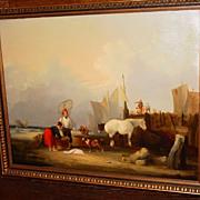 Oil on canvas William Shayer I - Mid 19th century